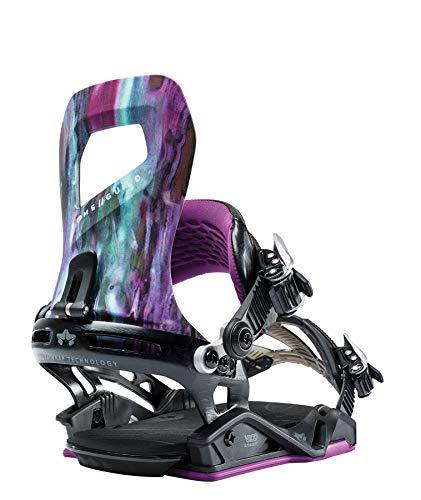Rome Snowboards Guild Snowboard Bindings - Women's, Purple Reign, Small/Medium