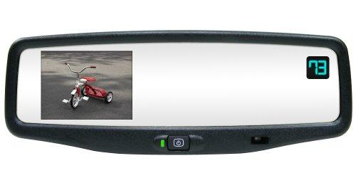 Rostra 250-8801-LPB Magna 3.5-Inch TFT EC GM Replacement Rear View Mirror Monitor and 1/4-Inch CCD Color Camera
