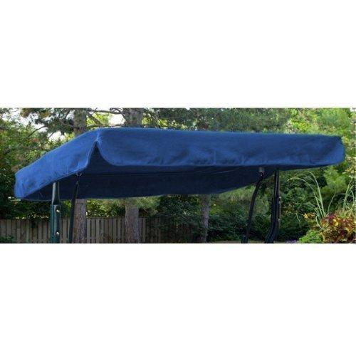 Royal Blue Water Resistant 3 Seater Replacement Canopy ONLY for Swing Seat/Garden Hammock