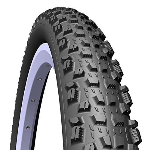 Rubena Mitas Kratos Top Design MTB & Cross Country Elite Level Tyre, 27 x 2.25 (57-584), black