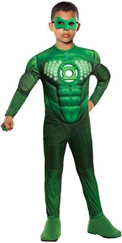 Rubies Fancy dress costume Co. Inc Boys Teen Light Up Green Lantern Fancy dress costume Teen