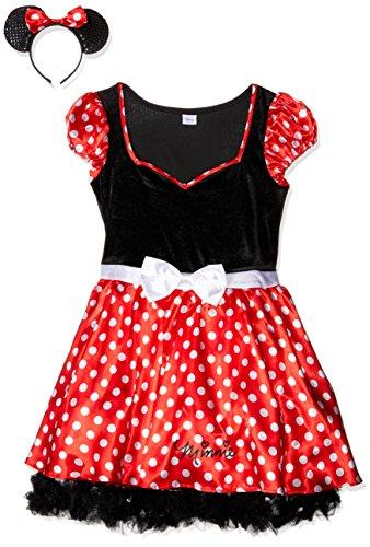 ... Rubieu0027s Official Ladies Disney Minnie Mouse Dress Adultu0027s Costume - ...  sc 1 st  High Quality Store & Rubieu0027s Official Ladies Disney Minnie Mouse Dress Adultu0027s Costume ...