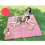Rycd Large Picnic Mat 200 X 150 Cm Picnic Blanket Tent Carpet With Carrying Handle Outdoor Indoor Portable Folding Machine Washable Beach Rug Oxford Cloth for Garden Camping Travelling (color : B)