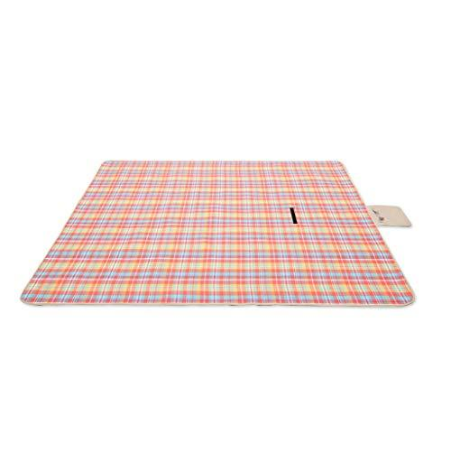 Rycd Picnic Blanket Mat Extra Large with Waterproof Backing Carpet Portable Folding Beach Picnic Rug Travel Camping Caravan Outdoor (Size : 200 * 300cm)