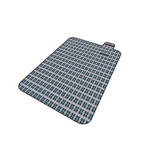 Rycd Picnic Blanket Mat Portable Folding Waterproof Backing Play Carpet/Moisture Pad/Beach Rug Oxford Cloth Outdoor, Beach, Camping, Hiking 200 * 150cm (color : A)