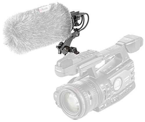 Rycote 037324 Universal Microphone Shock Mount and Mic Holder for Sony/Canon / Panasonic And JVC Camcorders & Cameras