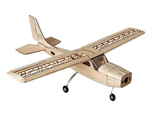 S16 Balsa wood Electric Training Airplane CESSNA 150 Kit 1000mm Wingspan need to built Airplane Basswood 4CH Radio Controlled Laser-cutting Aeroplane Un-assembled