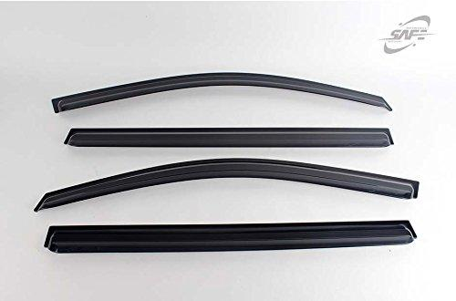SAFE Smoke Tinted Wind Deflectors Window Visors 4P K-901-028