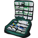 Safety First Aid Group Comprehensive Portable HSE Kit - with shoulder strap (Response Bag)