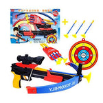 Safety Kids Outdoor Games Toy Bow & Arrow & Holder Archery Set With Suction Cup Arrows Target Games #05