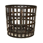 *SALE* 47cm Gothic Wrought Iron Log Basket Wood/Briquettes/Fireplace Accessory/Storage