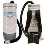 Sandia 70-2002 Super Raven, Backpack Vacuum with Power Head Accessory, 1340W, 120 CFM, 1.5HP, 2-Stage Motor, 6 quart
