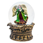 Santa Claus The Book of Secrets Angel Christmas Snow Globe (Musical)
