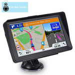 Sat Nav Aonerex GPS Navigation System with Sunshade for Car Truck Motorhome 7 inch Touchscreen 8GB 256MB Satellite Navigator Device with 2019 UK EU Maps Free Lifetime Map Updates