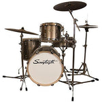 Sawtooth St-Com-4Pc-18-C Command Series 4-Piece Drum Set Shell Pack, Champagne