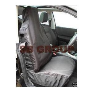 SB Car Seat Covers Seat Covers Waterproof Black 2 Fronts Only