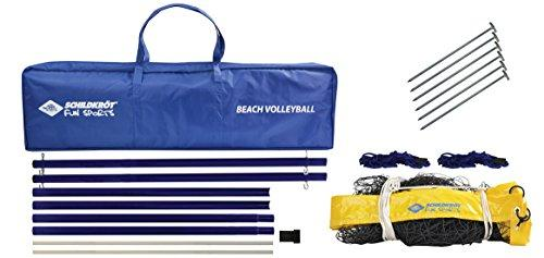 Schildkrot Fitness Unisex's Fun Beach Volleyball Net Set, Multicoloured, Medium