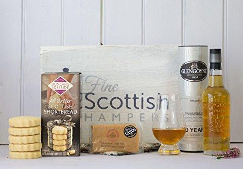 Scottish Whisky, Fudge & Shortbread Gift Hamper With Talisker - Birthday & Thank You