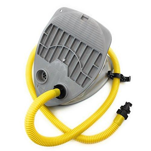 Seamax Foot Pump with HR Air Valve Adapter for Inflatable Boat