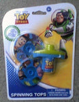 Set of 2 Toy Story Spinning Tops with Launcher by What Kids Want