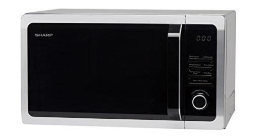 Sharp R764 Grill Microwave, 25 Litre, 900 W, Silver