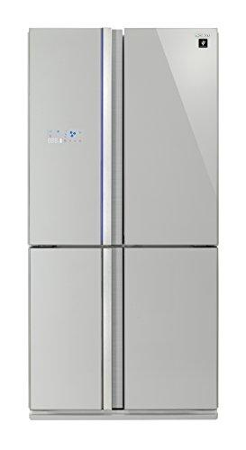 Sharp SJ-FS820VSL Freestanding A++ Rated American Fridge Freezer -Silver