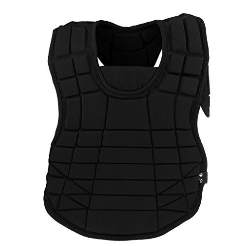 Sharplace Chest Protector Men's Protective Vest Safety Softball Baseball Sports Rugby légèr Flex-Pad for Sports