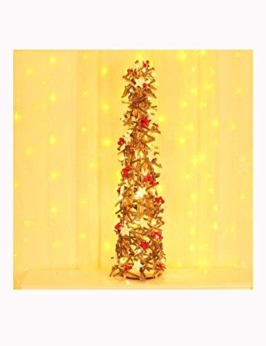Shhaljj Desktop decoration Christmas decorations High 40 inch creative wooden Christmas tree Hotel shopping mall window decoration