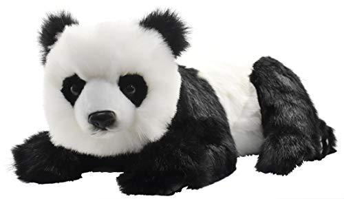 **SHIPPING TO UK MAINLAND ONLY ** Lying Panda Plush Soft Toy by Hansa. 62cm. 4182