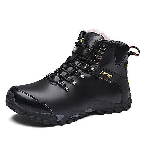 Shoe House Men's Hiking Sneakers, Hiking Boots, Winter Warm Hiking Snow Boots,EU38/US6(M)/UK5