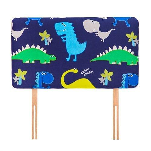 Shopisfy Children's Dino in the Dark Headboard Head Rest Kids Bedroom Accessories