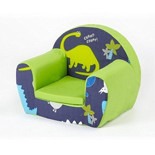 Shopisfy Children's Dino in the Dark Small Foam Toddler Chair Bedroom Playroom Furniture Armchair