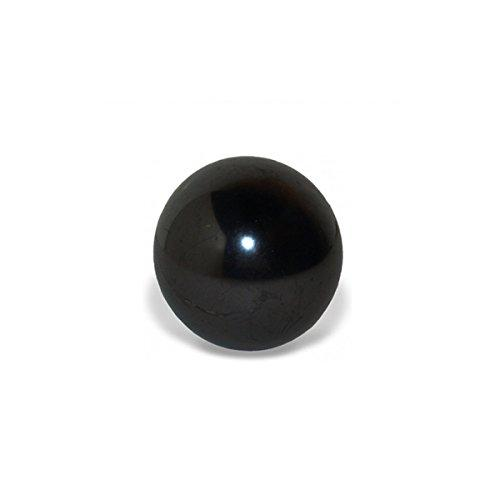 SHUNGITE SPHERE THE STONE OF LIFE- 60MM Polished