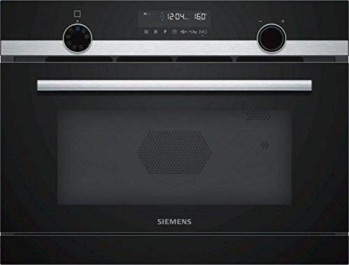 Siemens CP565AGS0 stainless steel Einbau-microwave with Grill and Dampfgarfunktion
