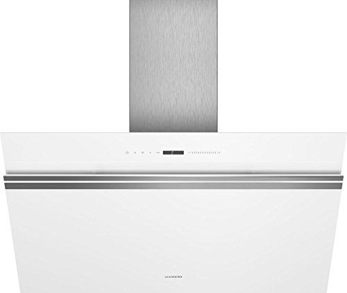 Siemens IQ500 lc91kww20 Wall-Mounted Cooker Hood Aluminium, White 950 M³/h a + – Bell (950 M³/h, Ducted/Recirculating, A, A, B, 56 dB)