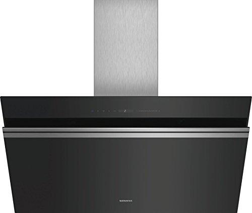 Siemens IQ500 lc91kww60 Wall-Mounted Cooker Hood Aluminium, Black 950 M³/h a + – Bell (950 M³/h, Ducted/Recirculating, A, A, B, 56 dB)