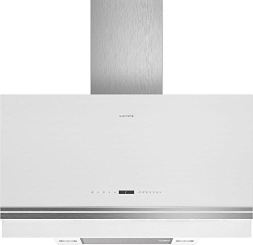 Siemens IQ500 lc97fvw20 Wall-Mounted Cooker Hood Aluminium, White 730 M³/h a – Bell (730 M³/h, Ducted/Recirculating, A, A, B, 57 DB)