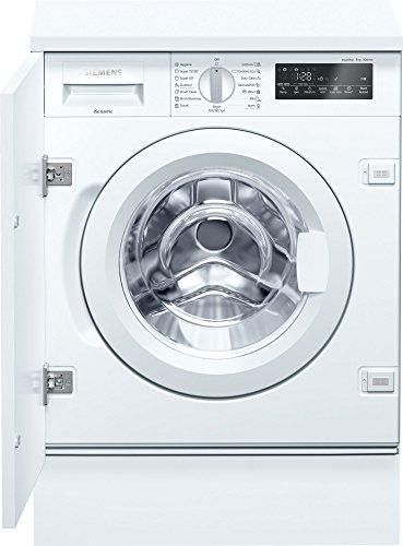 Siemens iQ700 wi14 W540eu Integrated Front Loading 8 kg 1400RPM A + + + -30% White – Washing Machine (Built-in, Front Loading, White, Left, LED, 2.25 m)