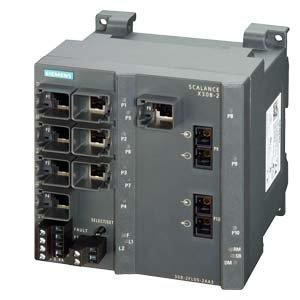 Siemens – Switch Plus scalance X308 – 2LH + 1000Mbit