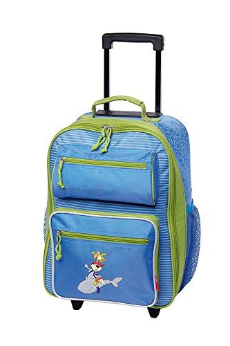 Sigikid Children Luggage Trolley Little Pirate, Sammy Samoa, 40x30x17 cm, 24550