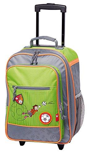 sigikid Children's Luggage, 40 cm, 22 Liters, Green 24549