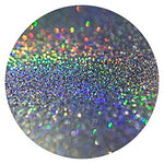 Silver Holographic Glitter Powder Additive Pixie Dust Holo Nails Hair Walls Body Makeup Florist Arts Crafts Various Sizes (1kg Bag)