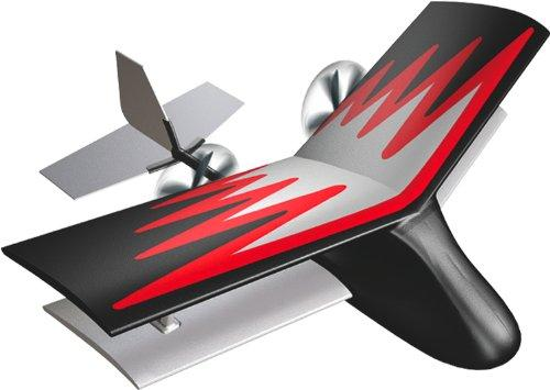 Silverlit X-Twin Mini Biplane 2-Channel Radio Control Aeroplane (Colour and Frequency Varies)