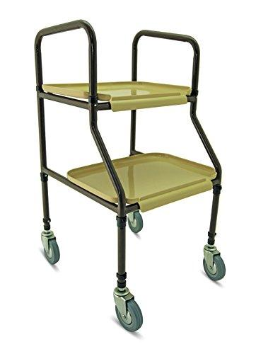 Simplelife Mobility Adjustable Height Walking and Serving Trolley