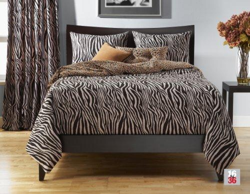 Siscovers Zebra Zen 6-Piece Duvet Set, California King