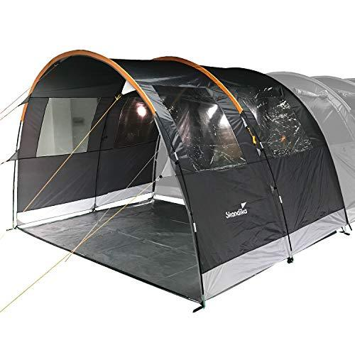 Skandika 6 Man Tent Canopy Extension for Model 1998 - Grey/Orange