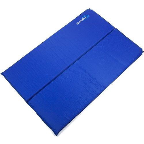 Skandika Self-Inflating Blue Night Unisex Outdoor Camping Mattress available in Blue - Double