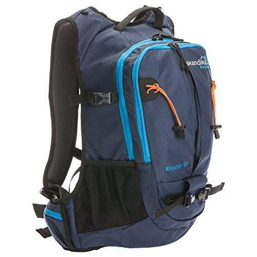 Skandika Whistler 32 Litre Rucksack Touring Hiking Backpack (Two-tone Blue)