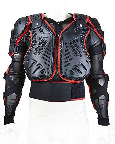 Skiing Skating Snowboards Motorcycle Body Armour Protector Jacket.With Shoulder protector. (X Large)