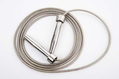 Skipping Speed Rope WIRE + Weighted heavy Steel Handles [Misc.]